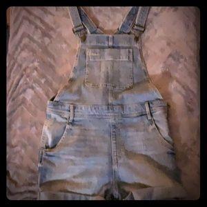 GAP jean overalls SMALL